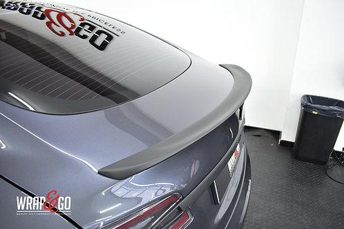 Tesla Model S Carbon Spoiler - Glanzend of Mat