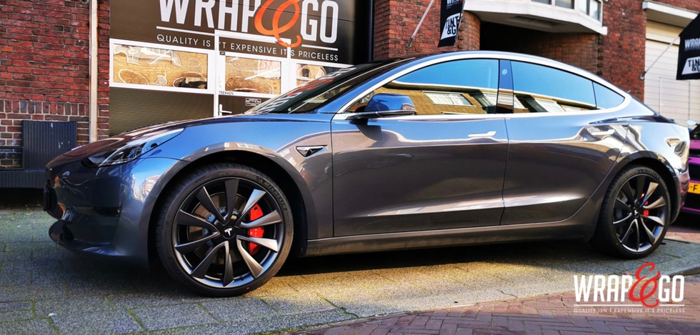 Tesla Model 3 Verlagen