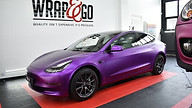 Teckwrap Satin Purple Chrome