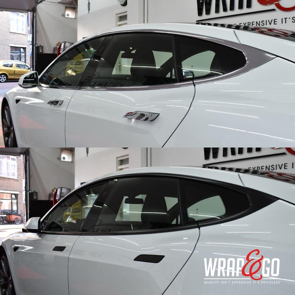 Tesla Model 3 Chrome Delete