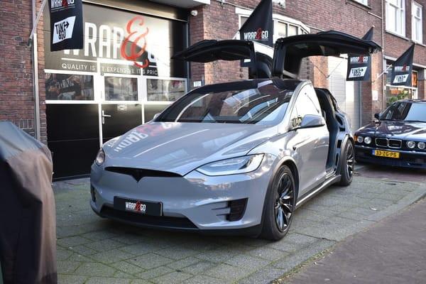 Tesla Model X Avery Nardo Grey