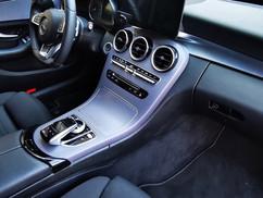 Mercedes Interieur Wrap Zilver Carbon