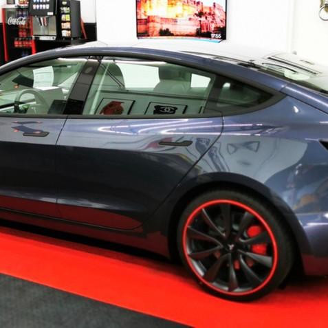 Tesla Model 3 Rood Alloygator