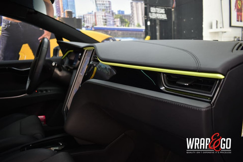 Tesla Model X Custom Interieur