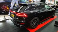Audi Q8 ramen tinten