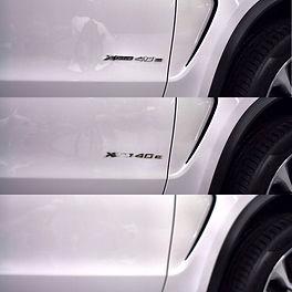 WrapAndGo Carwrap emblemen verwijderen BMW x5