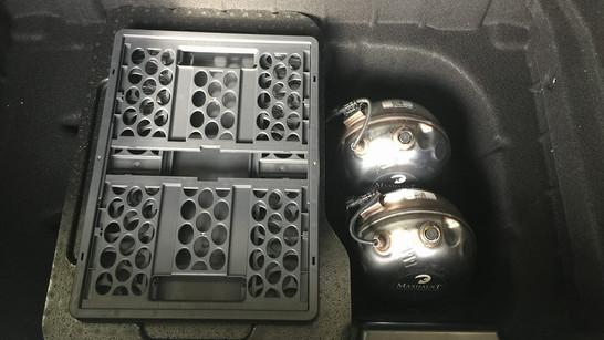 Maxhaust uitlaat systeem speakers