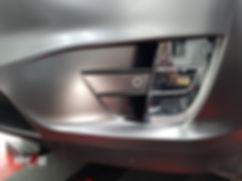 Foglight Carwrap Tesla Model X 3M Satin Grey WrapAndGo