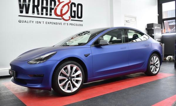 Thumbnail Tesla Model 3 Wrap 3M Matte Sl