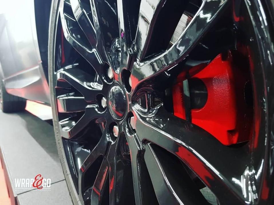 Range Rover Velgen Remklauwen spuiten