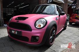 Mini Cooper 3M Matte Metallic Pink Auto
