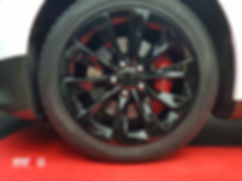 Carwrap Tesla Model S Velgen