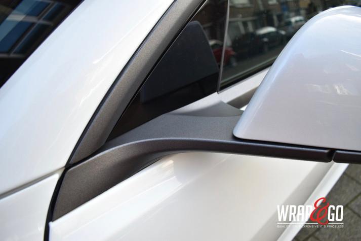 Tesla Model 3 Chrome Delete Matte Dark G