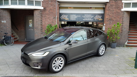 Tesla Model X 3M Brushed Black