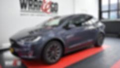 Tesla Model X Carwrap fron