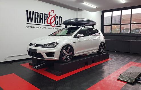 Auto ramen tinten VW Golf