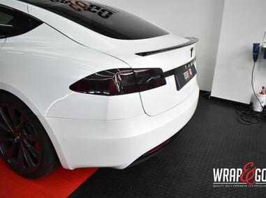 Tesla Model S Standaard Carbon Spoiler