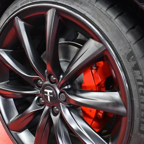 Tesla Velg Bescherming Alloygator Zwart