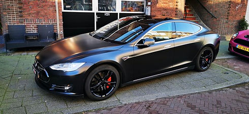 Thumbnail Tesla Model S car Wrap Satin B