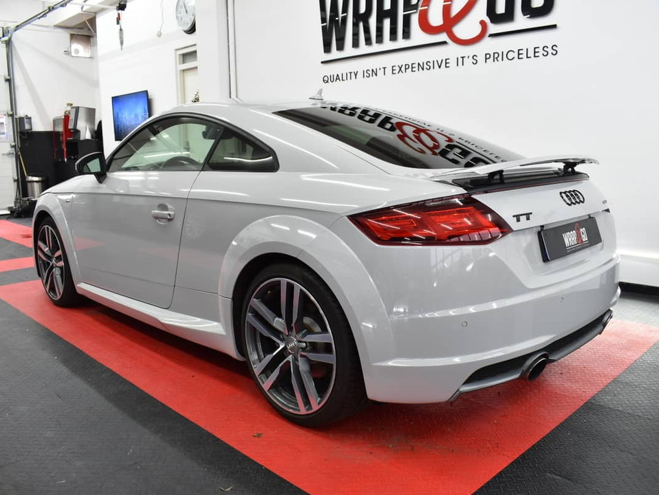 Audi TT Nardo Grey Car Wrap