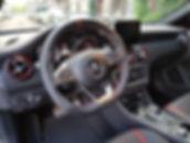 Mercedes A45 AMG Carwrap 3M Satin Ocean Shimmer