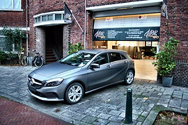 Carwrapping Mercedes A-klasse 3M Matte Dark Grey