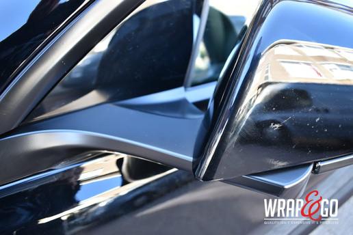 Tesla Model 3 Spiegels Chrome Delete Sat