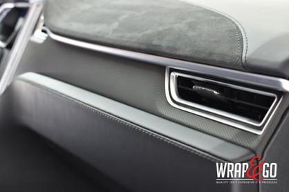 Tesla Model 3 Interieur wrap 3M Matrix