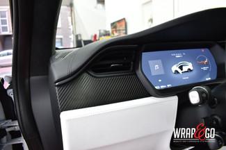 Tesla Model X Carbon Interieur Wrap