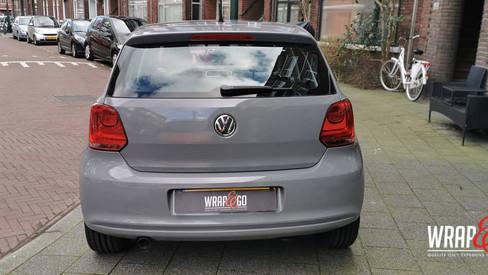 VW Polo Avery Gloss Rock Grey Wrap