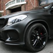 Mercedes Carwrap Autowrap 3M