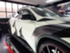 Carwrap, Mercedes, AMG, camouflage, WraAndGo