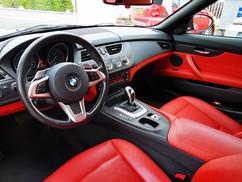 BMW Z4 Interieur wrap carbon