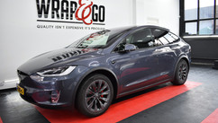 Tesla Model X Remklauwen spuiten, wrap