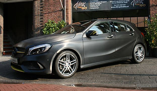 Carwrap Mercedes Autowrap 3M Brushed Black