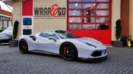 Ferrari 488 Inozetek Chalk Grey Auto wrap