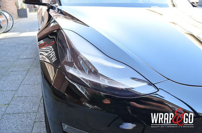 Tesla Model 3 Lampen Tinten Blinderen Sm