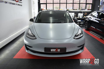 Tesla Model 3 3M Battleship Grey