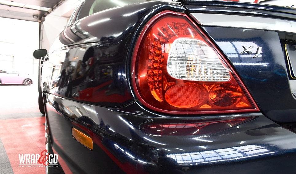 Jaguar XJ Carwrap 3M Zijkant