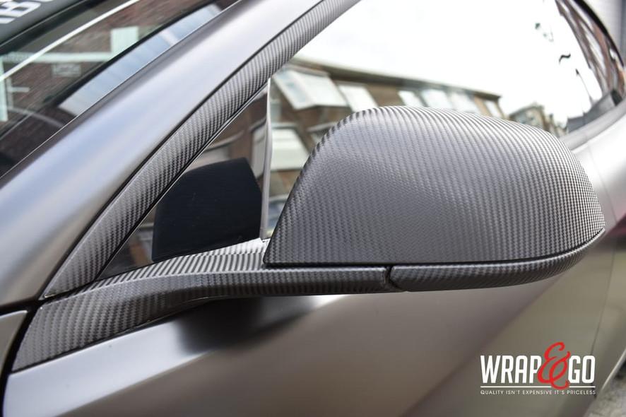 Tesla Model 3 3M Satin Black Wrap Carbon
