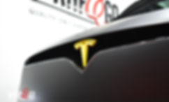 Tesla Model X Matte Black Wrap Auto
