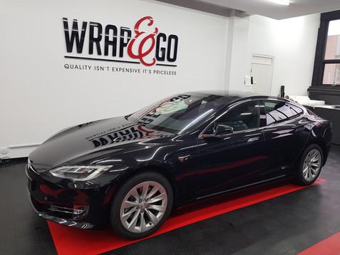 Tesla Model S Wrap