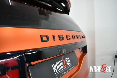 Land Rover Discovery Teckwrap Wild Orang