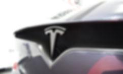 Tesla Model X Carwrap Logo