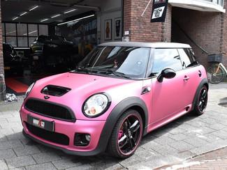 Mini Cooper Avery Matte Metallic Pink Auto