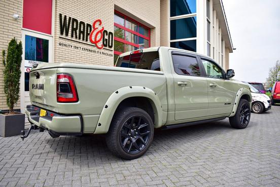 Dodge Ram Inozetek Khaki Green Auto Wrap