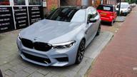 BMW M5 Competition auto wrap Gloss Rock Grey
