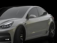 Startech Bodykit Tesla Model 3 Side