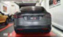 Tesla Mode X 3M Satin Dark Grey, satin black