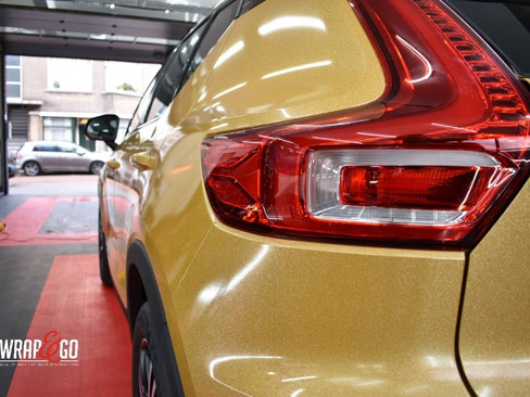 Volvo XC40 Avery Diamond Amber Wrap